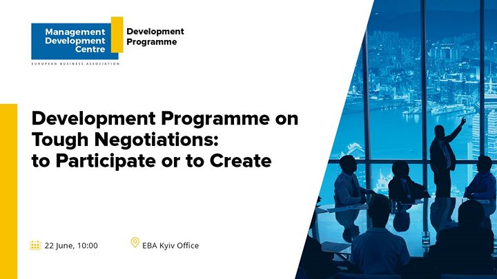 Development Programme on Tough Negotiations