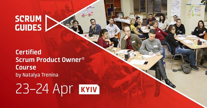 Certified Scrum Product Owner by ScrumAlliance
