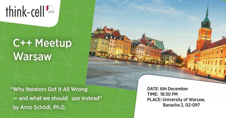 Cpp Meetup in Warsaw