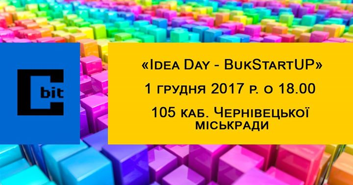 Idea Day - BukStartUP