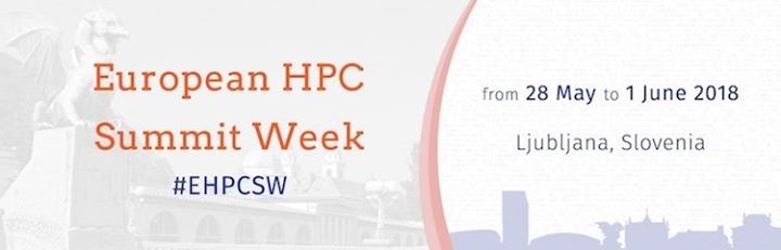 European HPC Summit Week 2018