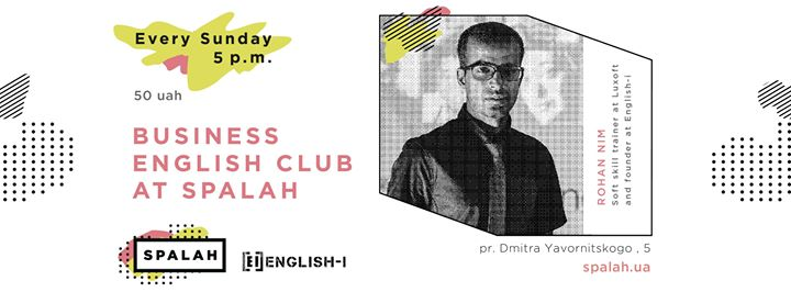 Business English Club at Spalah