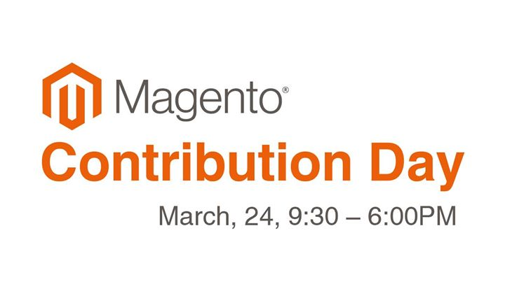Magento Contribution Day, March, 24