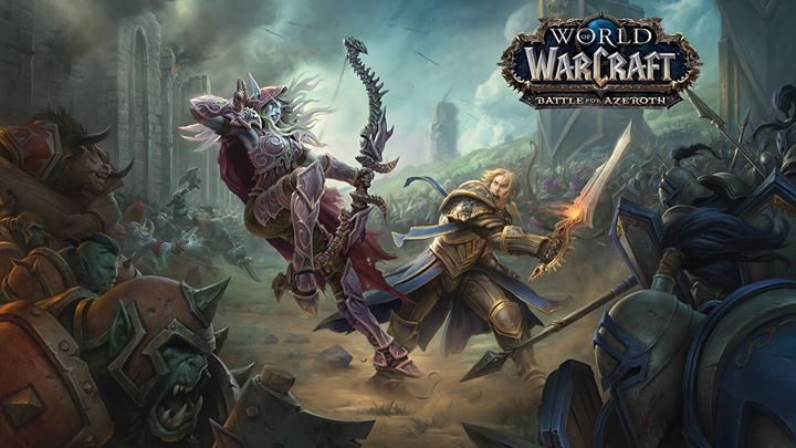 "Безкоштовний курс ""World of Warcraft: Battle for Azeroth"""