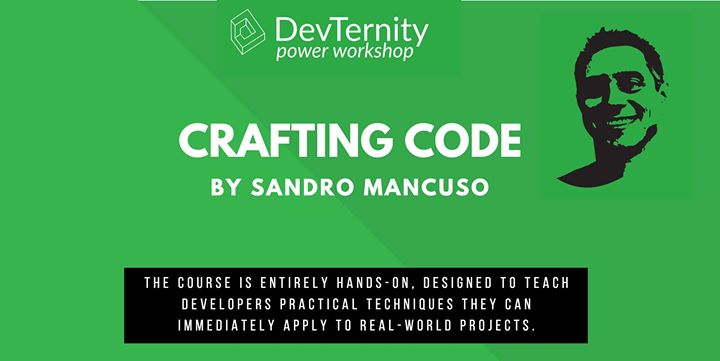 Crafting Code Workshop by Sandro Mancuso