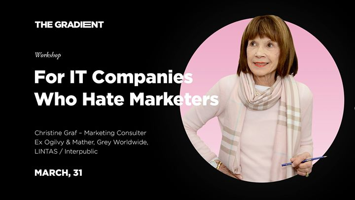 For ІТ companies who hate marketers