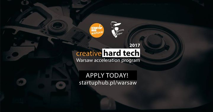 Accelerate your startup with Startup Hub Warsaw'17 Program!