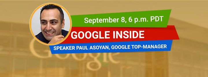 Online workshop with Google Top Manager - Paul Asoyan